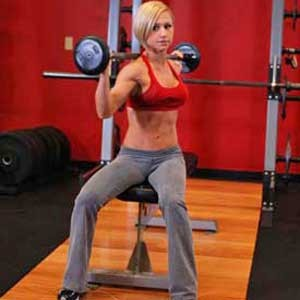 Seated-Barbell-Twist