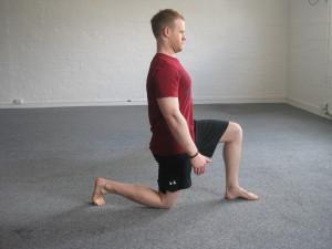 Half-kneeling