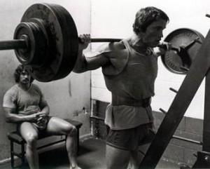 Arnie-Squatting
