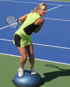 BOSU-Tennis