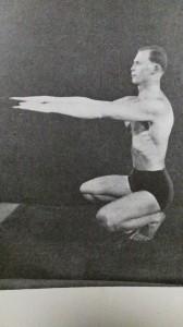 """""""Trénink dynamické rozpínavosti"""" 1938"""