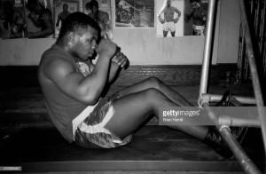 Mike Tyson Training